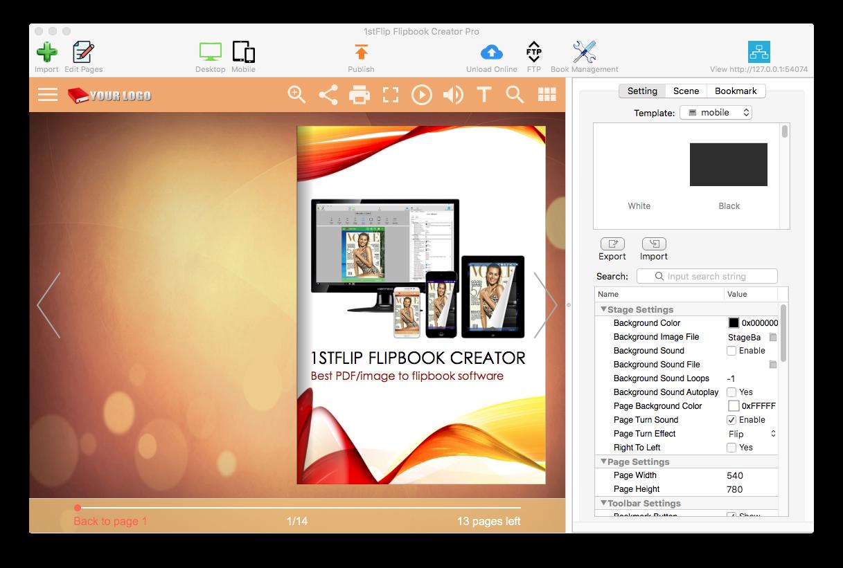 pdf to flipbook free online