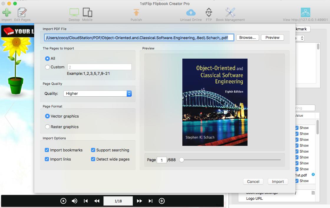 Pdf To Flash Page Flip Converter Create Flash Flipbooks
